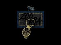 Zoo Era Blackout Shirt - Pitt Basketball