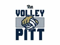 Volley Pitt Student Section T-Shirt Design - Pitt Volleyball