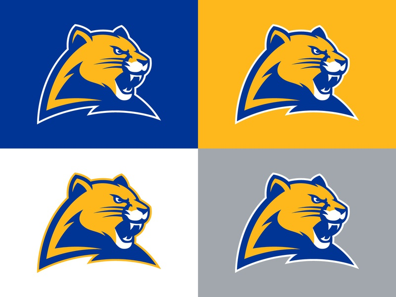Pitt Panther Concept 3.0 university college pittsburgh panthers sports logo logo panther pitt