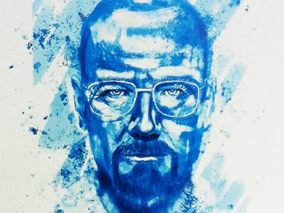 Heisenberg breaking bad breaking bad lets cook mr. white sketch painting heisenberg breakingbad