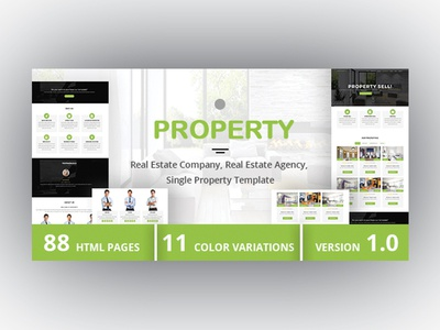 PROPERTY - Real Estate Company, Real Estate Agency Template single property rental realtor realestate real estate developer real estate company real estate agent real estate agency real estate property homes apartment