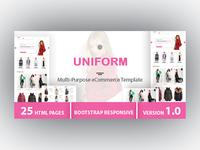 UNIFORM - Multi-Purpose eCommerce HTML Template