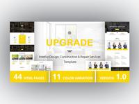 UPGRADE - Interior Design, Construction & Repair Services
