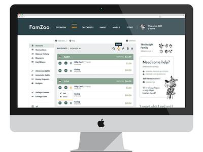 More desktop app tweaks listing modern accounts bank tablet desktop monochromatic finance app