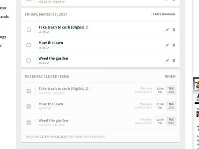 Checklist Views desktop modern listing app ui bank checklist