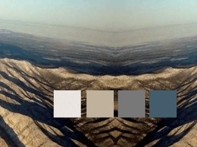 Sutin Color Swatches style branding color palette background background art new mexico southwest color scheme ui design