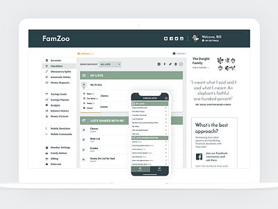 Checklist Listing - New CP Style dashboard control panel mobile design app listing checklist flat design ui ui design mobile app design