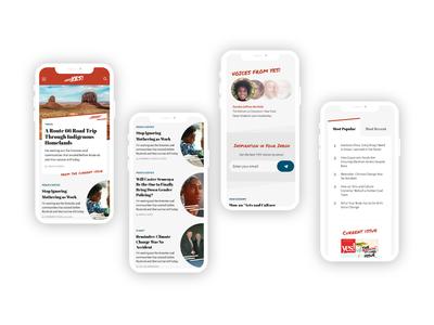 News Site Design Exercise branding ui interface design website design design homepage redesign website publication news