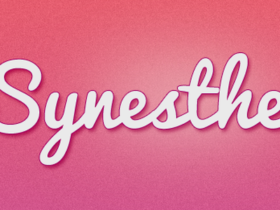 Sample header for writing gig colors synesthesia