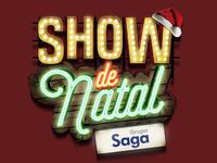 Keyvisual Show de Natal (Christmas Show)