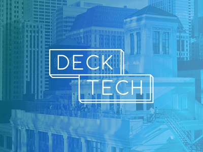 Deck Tech Branding brand identity event party minimal chicago tech ecommerce