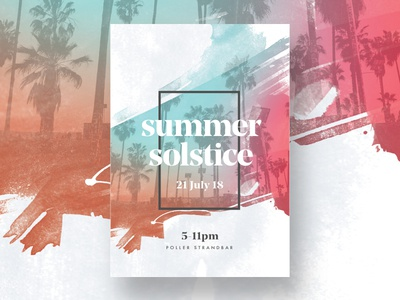 Summer Poster layout typography photoshop illustrator poster design germany michigan