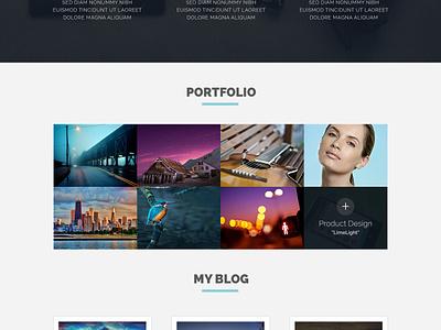 Portfolio site Freebie portfolio site ux ui flat web design resume design minimal elegant freebie psd