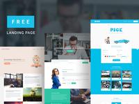 Landing Page Bundle । Freebie