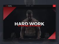 Fitness Website wip