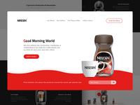 NESCAFÉ home page redesign