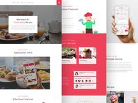 Edacious App Landing Page