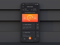 Fitness Tracker Homepage