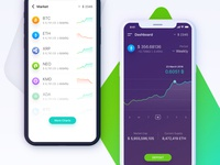 Cryptocurrency App (conceptual)
