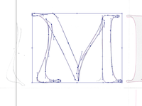 M letter for a logo