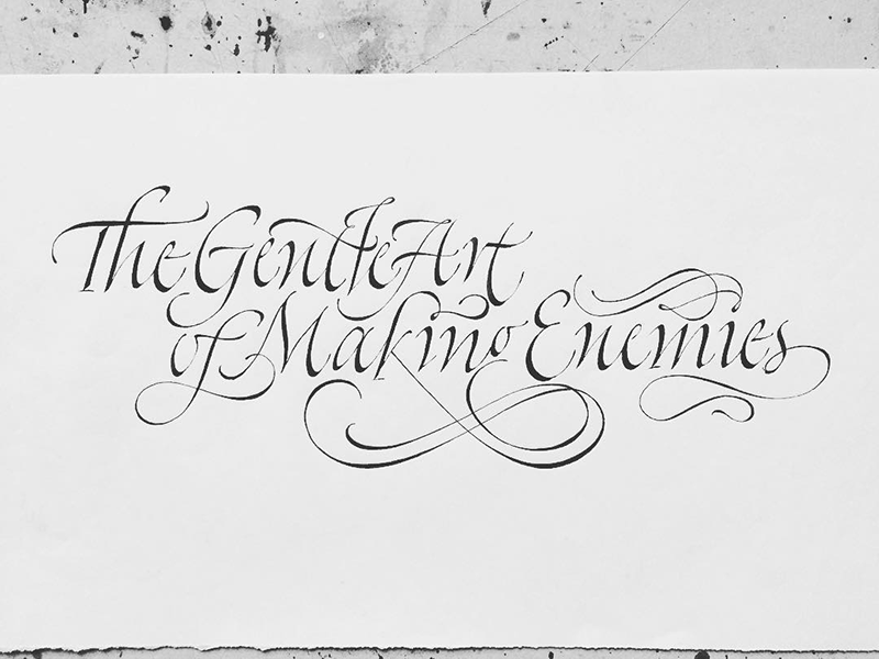 Italic composition rock faith no more sketch sketchbook calligraphy art quote typography calligraphy handmade lettering type
