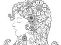 Floral Lady Portrait 2