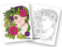 Floral Faces