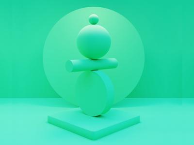 Simple Geometry ART design 3d 3d animation illustration cinema4d blender3d blender