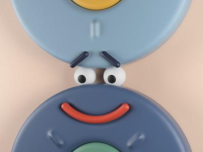 Simple Animation-1 physicalrender 3d animation illustration ui design 3d cinema4d