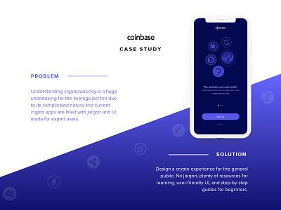 Coinbase redesign case study case study ui mobile crypto coinbase cryptocurrency redesign