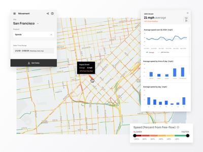 Uber Movement Speeds ubermovement speeds tool city data ui uber data dataviz
