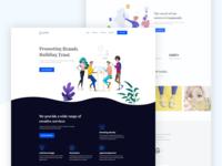 Creative Agency Landing Page Design