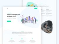 Agency Landing Page Design