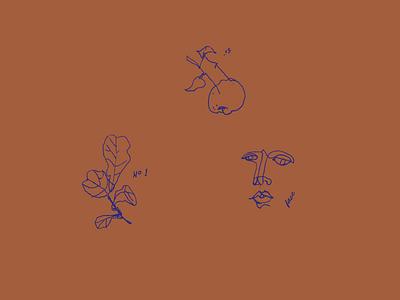 Scribbble rap flow blind contour scribble drawings