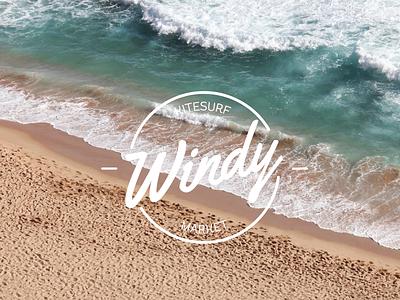 Windy Kitesurf Marketplace ocean beach summer logo kitesurf kite windy