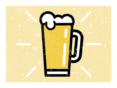 Happy National Beer Day draft tap glass frosted pint foam bar hops brewski brew suds beer