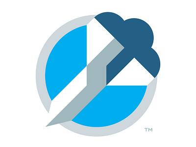 Bombshell Software bombshell rocket branding logodesign icon software identity mark logo