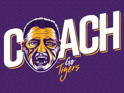 Coach O o baton rouge louisiana coach athletics tigers lsu football sports