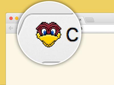 CRE Favicon favicon web user interface carolina football logo branding sport 8bit design pixel icon