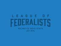 Palmetto Boys State 2016 Federalist Party Logotype