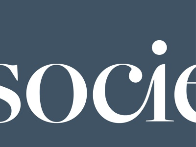 Society SoCo Logo sophisticated elegant mark custom type wordmark logotype identity logo branding brand