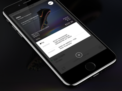 Email Receipt - 017 photoshop iphone 7 app ux ui 3d touch daily ui ios iphone