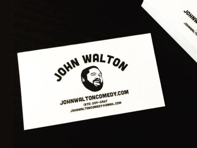 Comedy's John Walton