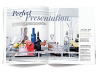Classic Cocktails magazine - bar cart story