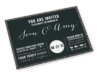 Casual Wedding invite