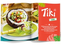 Tiki Magazine - food intro