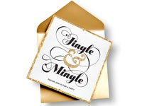 Jingle & Mingle Holiday Invite