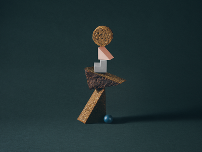 The Kitchen shoot photoshoot shapes brand identity food styling food shoot totem stacks