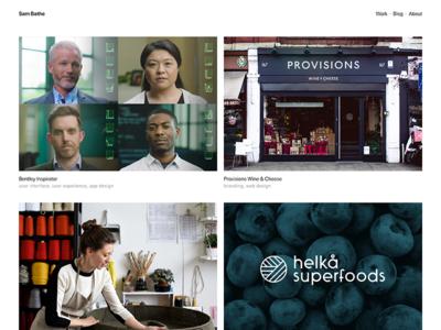 New year, New site, New work relaunch year website site portfolio new 2018