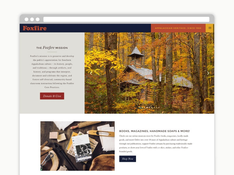Foxfire website